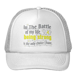 Osteosarcoma In The Battle Mesh Hat