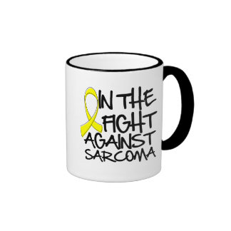 Osteosarcoma - In The Fight Ringer Coffee Mug