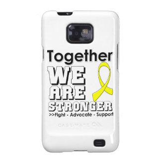 Osteosarcoma juntos somos más fuertes galaxy s2 carcasas