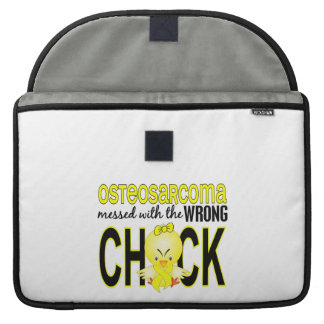 Osteosarcoma Messed With Wrong Chick MacBook Pro Sleeves