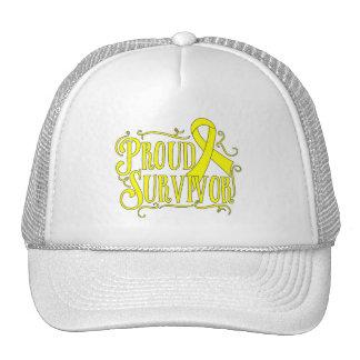 Osteosarcoma Proud Survivor Hats