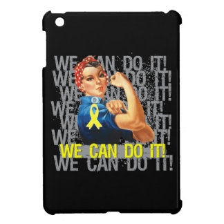 Osteosarcoma Rosie PODEMOS HACERLO iPad Mini Carcasas