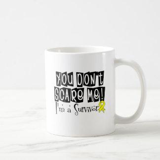 Osteosarcoma Survivor You Don't Scare Me Classic White Coffee Mug