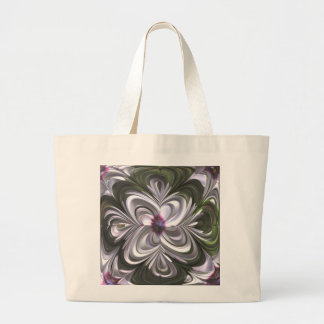 Osteospermum Abstract Tote Bags