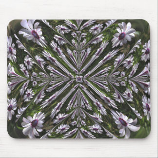 Osteospermum Abstract Mouse Pad