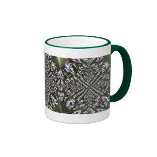 Osteospermum Abstract Coffee Mugs