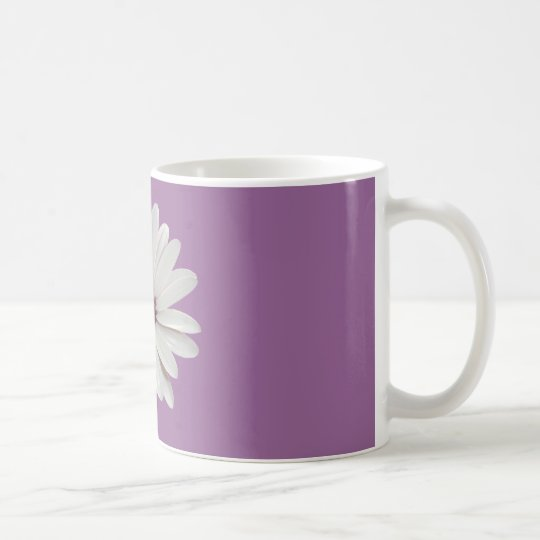 Osteospermum Daisy with Purple Centre Coffee Mug