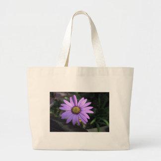 Osteospermum 'Stardust' Jumbo Tote Canvas Bags