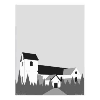 Øster Snede Kirke - The Church in Oster Snede Postcard
