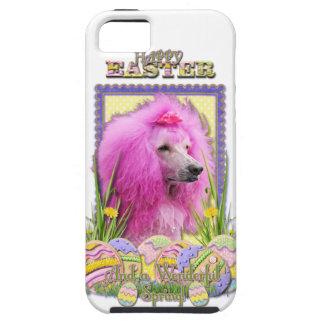 Osterei-Plätzchen - Pudel - Rosa iPhone SE/5/5s Case