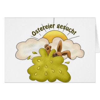 Ostereier Card