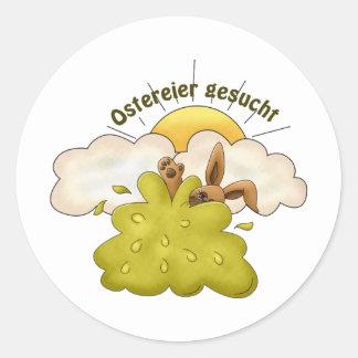 Ostereier Classic Round Sticker