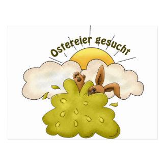 Ostereier Postcard