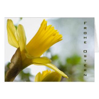 Osterglocke • Osterkarte Card