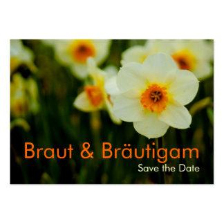 Osterglocken • Save the Date Mini Karten Large Business Card