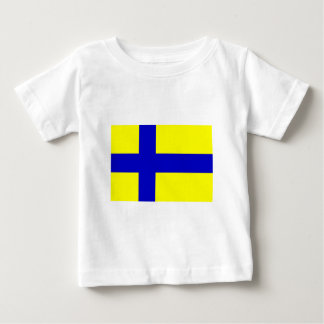 Östergötland flag (unofficial) tee shirts