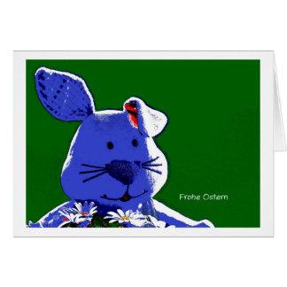 Osterkarte conejito de pascua especie de pop tarjeta de felicitación