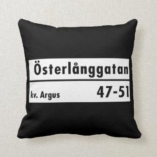 Österlånggatan Estocolmo placa de calle sueca