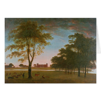 Osterley House and Park at Evening Card