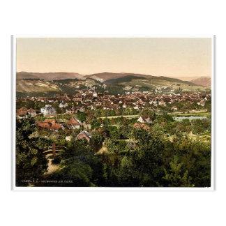 Osterode, Hartz, Alemania Photochrom magnífico Postales