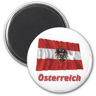 Österreich Fliegende Dienstflagge, deutscher Name Magnet