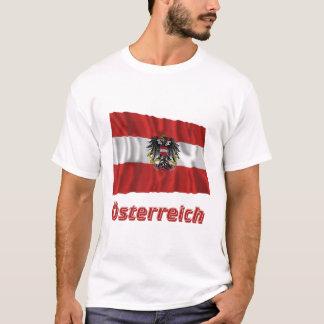 Österreich Fliegende Dienstflagge, deutscher Name T-Shirt