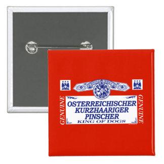 Osterreichischer Kurzhaariger Pinscher Button