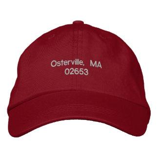 Osterville, mA 02653 - casquillo de la bola Gorras De Beisbol Bordadas