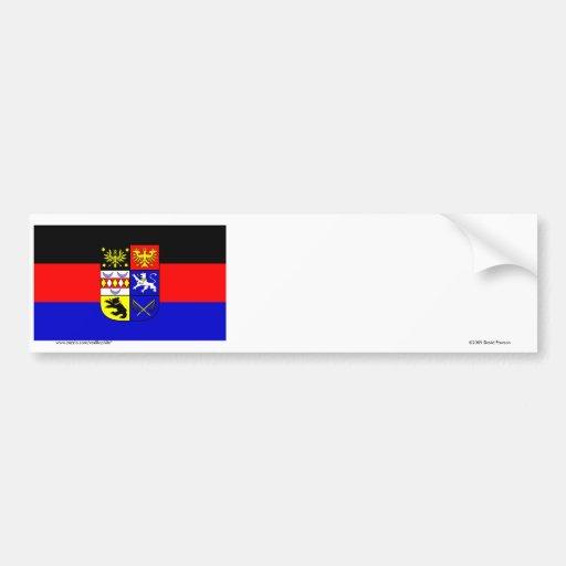 Ostfriesland Flag Bumper Sticker