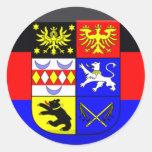Ostfriesland Flag Gem Sticker