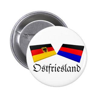 Ostfriesland, Germany Flag Tiles Button
