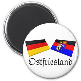 Ostfriesland, Germany Flag Tiles Magnet