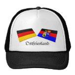Ostfriesland, tejas de la bandera de Alemania Gorro De Camionero