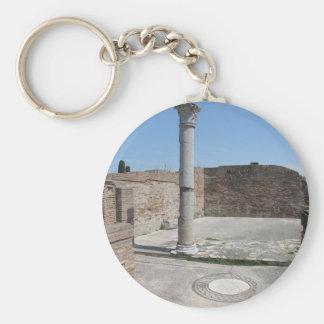 Ostia Antica - Archaeological Photography Keychain