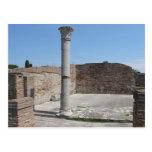 Ostia Antica - Archaeological Photography Postcard