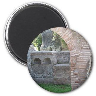 Ostia Antica - ciudad del puerto de Roma antigua Imán De Frigorífico