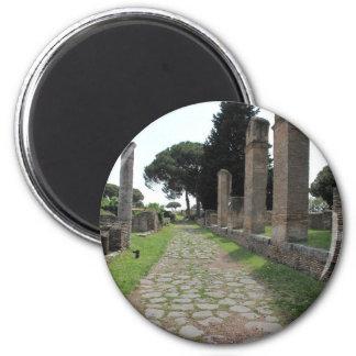 Ostia - ciudad del puerto de Roma antigua Imán De Frigorifico