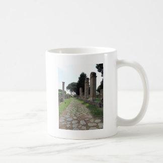 Ostia - ciudad del puerto de Roma antigua Taza De Café