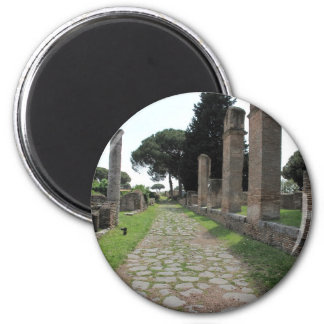 Ostia - Harbour City of Ancient Rome 2 Inch Round Magnet