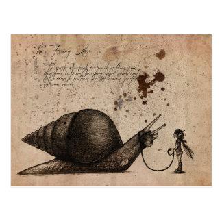 Ostler de hadas tarjetas postales