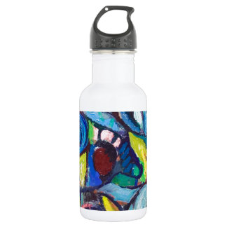 Ostracized Fishes (abstract expressionism) Stainless Steel Water Bottle
