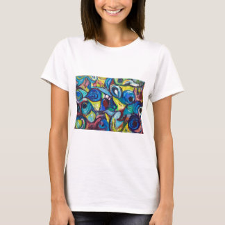 Ostracized Fishes (abstract expressionism) T-Shirt
