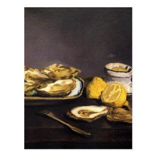 Ostras - Édouard Manet Tarjetas Postales