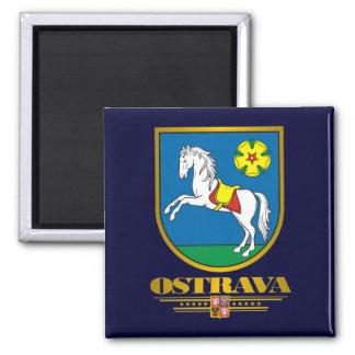 Ostrava COA 2 Inch Square Magnet