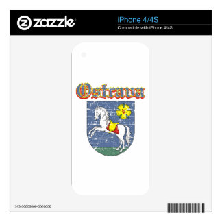 ostrava coart of arm skins for the iPhone 4