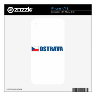 Ostrava Decal For iPhone 4S