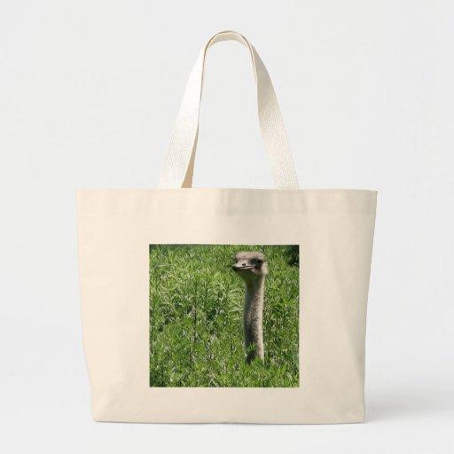 ostrich 1 canvas bag