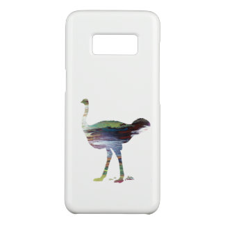 Ostrich art Case-Mate samsung galaxy s8 case