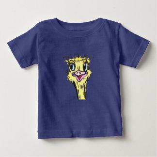 Ostrich Baby Jersey Bird T-shirt customizable