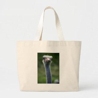 Ostrich Canvas Bag